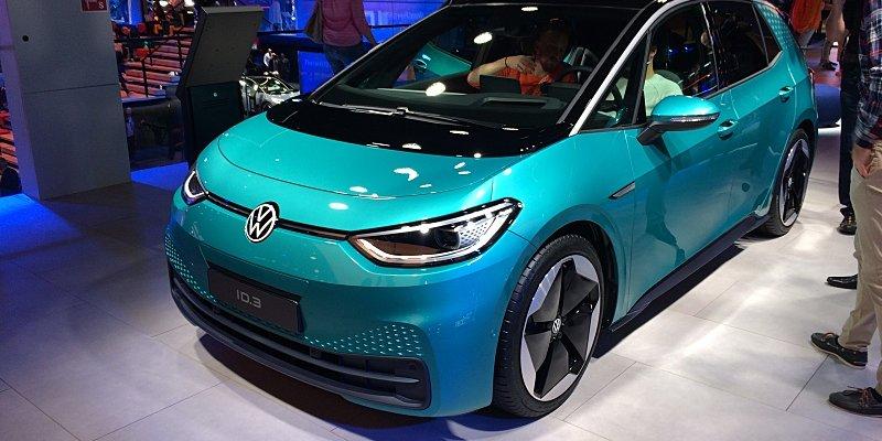 Ve Frankfurtu se ukázal Volkswagen ID.3