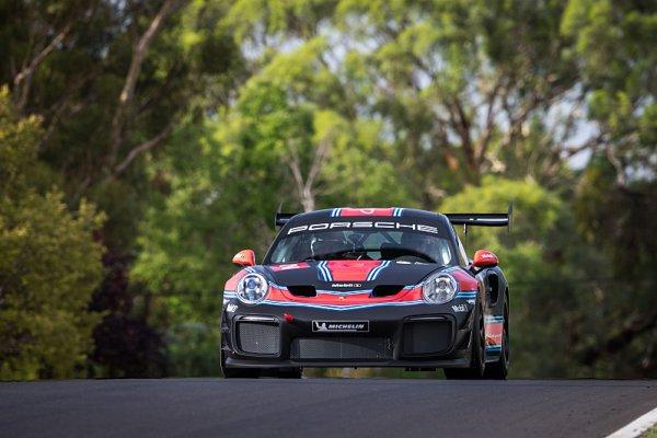Webber představil v Austrálii novinku Porsche