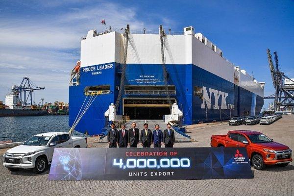 Mitsubishi vyvezlo z Thajska již čtyři miliony vozidel