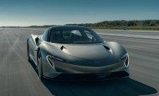 Hyper-GT McLaren Speedtail v akci