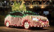 Vánoční Nissan Leaf