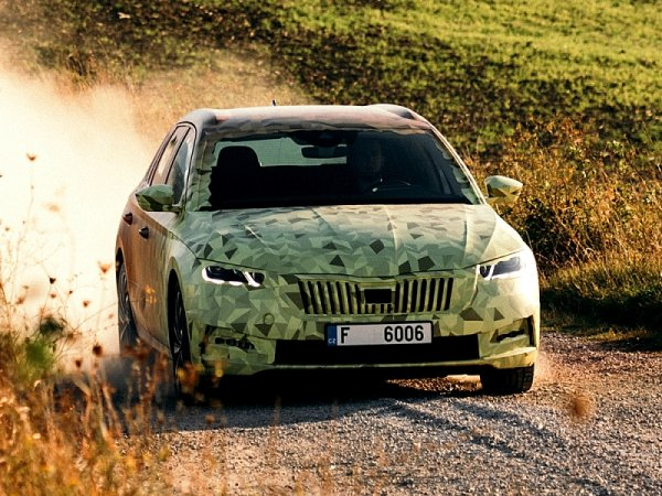 Škoda Octavia s novým designem i technikou