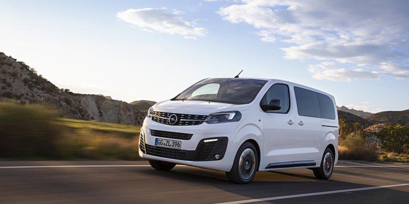 První fotografie nového Opelu Zafira Life