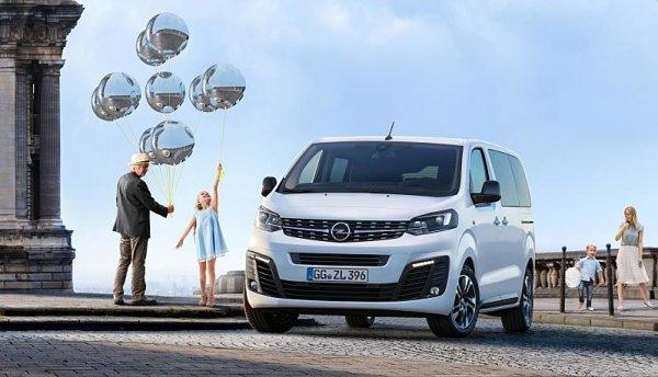 Opel Zafira Life měla premiéru v Bruselu