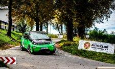BMW uspělo na zlínské Green Rally