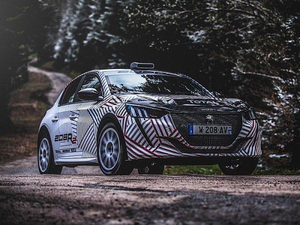 Peugeot Sport představuje nový 208 R2