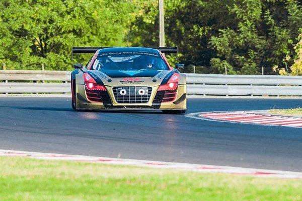 ESET V4 Cup si letos v GT3 podmanil Chlad
