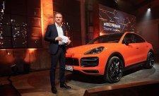 Stuttgartská premiéra Porsche Cayenne Coupé