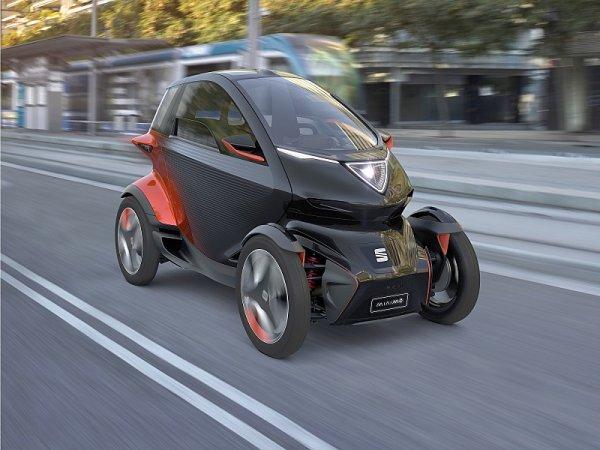Seat Minimó ukazuje koncept městské mobility