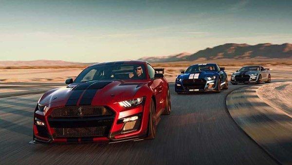 Nový Mustang Shelby GT500 je rychlejší než Veyron