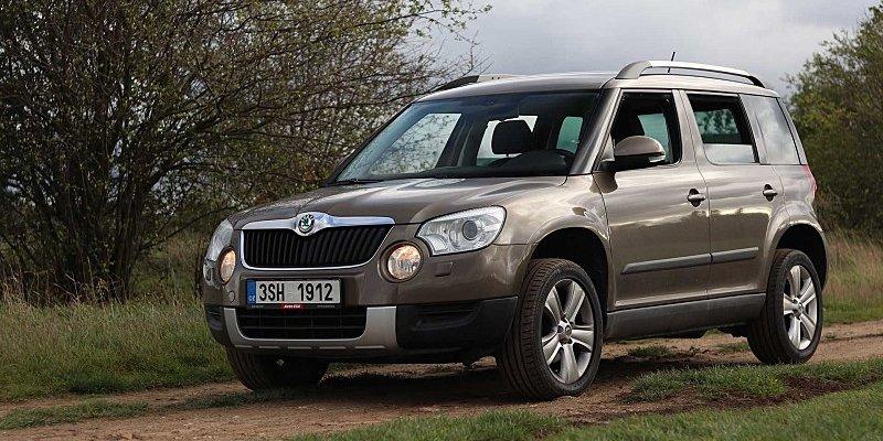 Test ojetého vozu Škoda Yeti 2.0 TDI 4x4