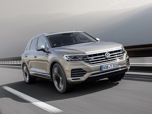 Volkswagen Touareg dostane V8 TDI