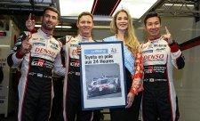 Toyota potvrdila v kvalifikaci na 24h Le Mansu roli favorita
