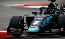 Na špici tentokrát DAMS, Schumacher se moc nesvezl
