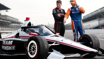 IndyCar poprvé testovala na dráze aeroscreen