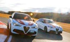 Giulia Quadrifoglio a Stelvio Quadrifoglio Alfa Romeo Racing