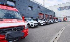 Automobily z Autobond Group pro pražské hasiče