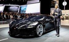 Bugatti La Voiture Noire za 11 milionů eur