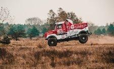 Loprais oživil pro Dakar značku Praga