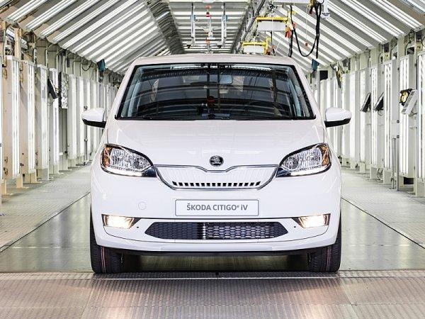 Zahájení sériové výroby Škody Citigoe iV