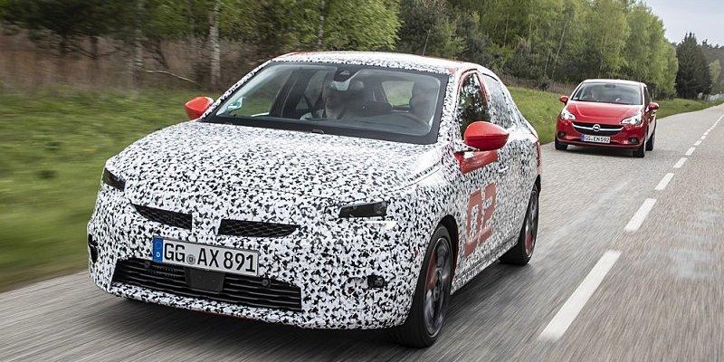 Validační jízdy za volantem Opelu Corsa F