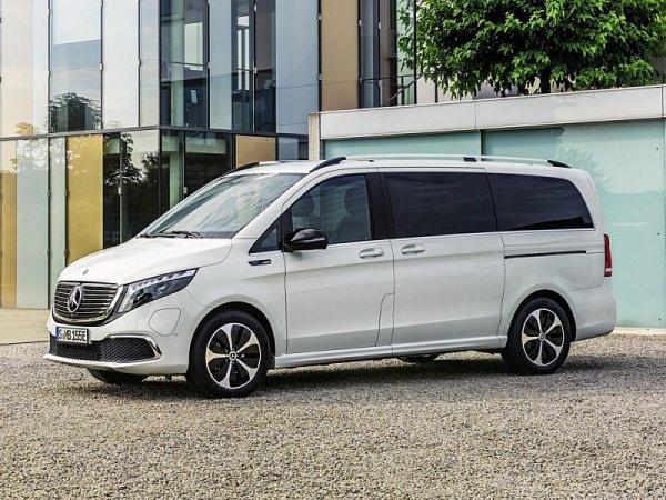 Mercedes-Benz EQV se představil