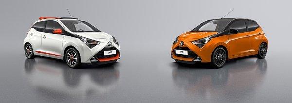 Do Ženevy míří speciální edice Toyoty Aygo
