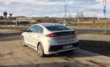Hyundai Ioniq Hybrid dosáhl nejnižší spotřeby