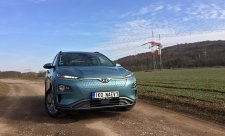 Test elektromobilu Hyundai Kona Electric
