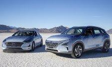 Rekordy pro Hyundaie Nexo Fuel Cell a Sonata Hybrid