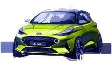 První náčrt zcela nového modelu Hyundai i10