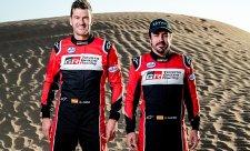 Alonsův start v Dakaru oficiálně potvrzen