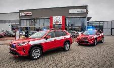 Toyoty budou sloužit hasičům