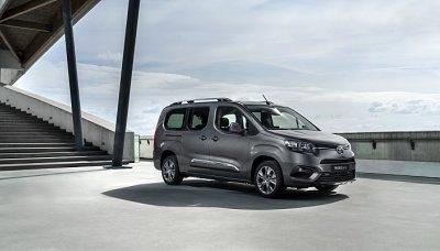 Toyota Proace City uveze až tunu nákladu