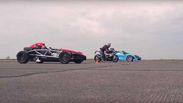 Trojboj supersportu, závodního speciálu a motocyklu