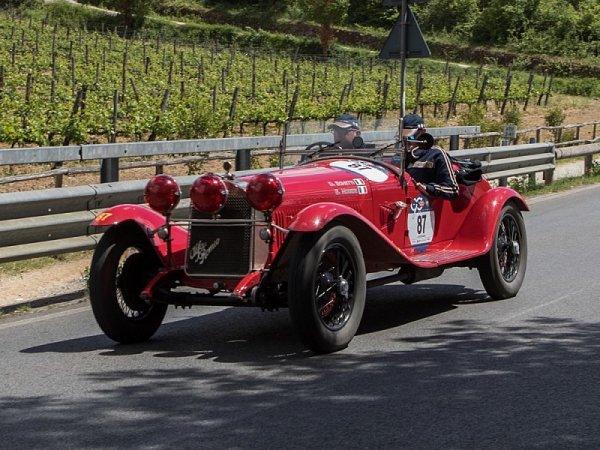 Alfa Romeo je dále sponzorem Mille Miglia