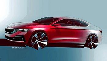 Nová Škoda Octavia se poodhaluje