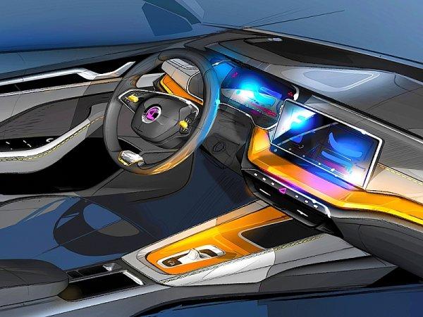 Škoda Octavia - nový koncept interiéru