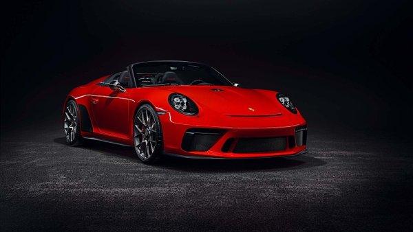 Newyorská premiéra sériového Porsche 911 Speedster