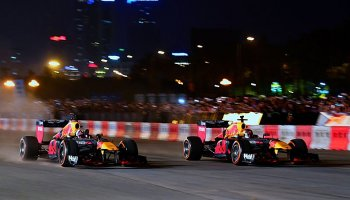 Red Bull řádil v hanojských ulicích