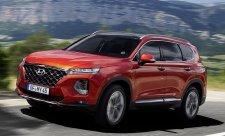 Hyundai Santa Fe s kamerou sledující mrtvý úhel