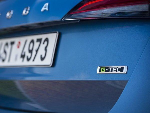 Škoda Scala G-Tec jezdí na zemní plyn