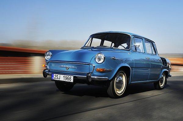 Před 55 lety byla předvedena revoluční Škoda 1000 MB
