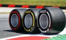 V levých zatáčkách budou pneumatiky studené