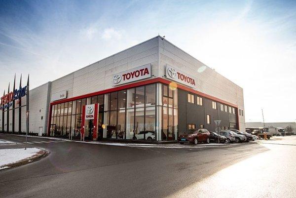 Prodej a servis toyot v Plzni v nových prostorách