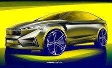 Škoda Vision iV ukazuje elektrickou budoucnost značky