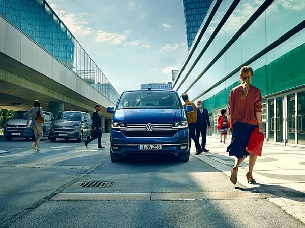 Volkswagen Užitkové vozy snovým vizuálním stylem