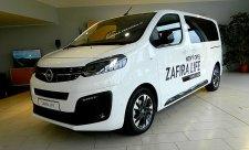 Opel Zafira Life v předpremiéře