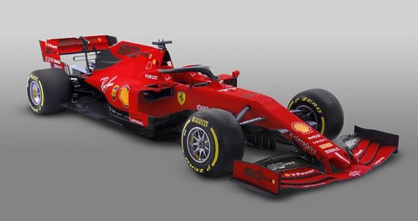 A nový Vettelův vůz se jmenuje…
