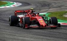 V sobotu panovala v zázemí Ferrari dusná atmosféra